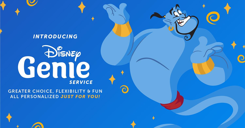 Disney Genie Service für Walt Disney World und Disneyland Resort