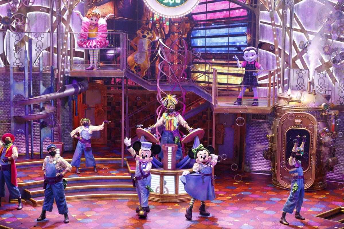Disney Junior Dream Factory Schlusszene mit allen Darstellern