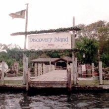 Bootsanleger der früheren Discovery Island in Disney World