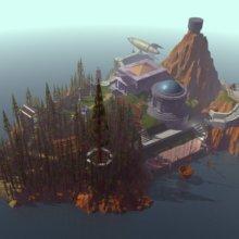 Bild aus dem Computerspiel Myst