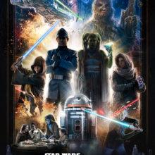 Poster zum kommenden Erlebnis in Walt Disney World: Star Wars: Galatic Starcruiser