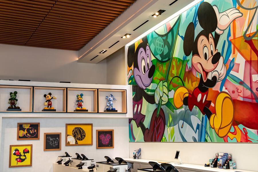 Mickey Artwork Wall
