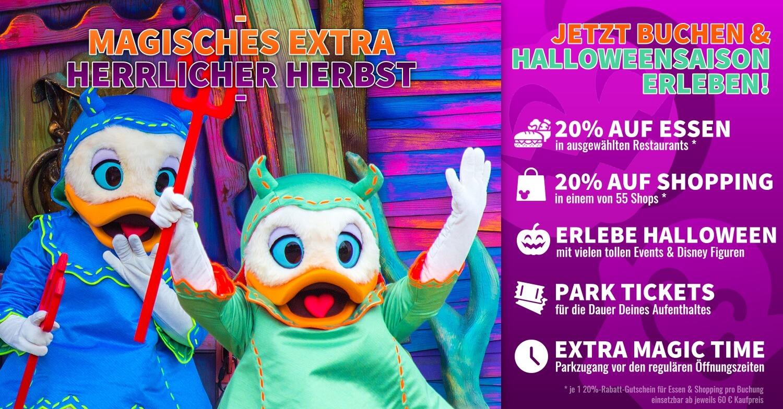 Angebot für Disneyland Paris: Magisches Extra: Herrlicher Hebrst
