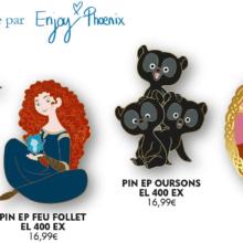 Merida Pin Serie im September 2021 in Disneyland Paris, inspiriert von EnjoyPhoenix