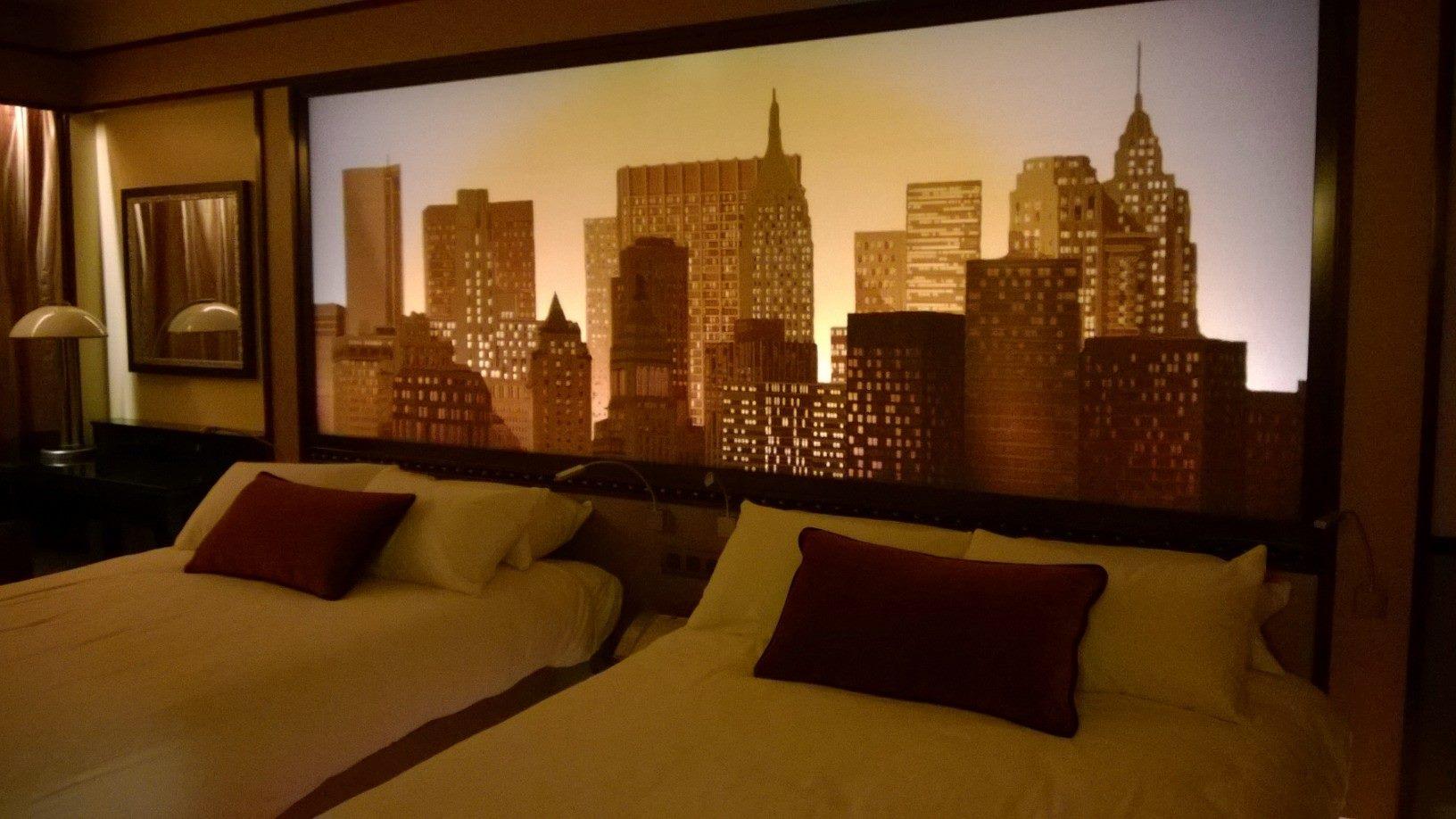 Renoierung hotel new york muster test zimmer for New york zimmer deko