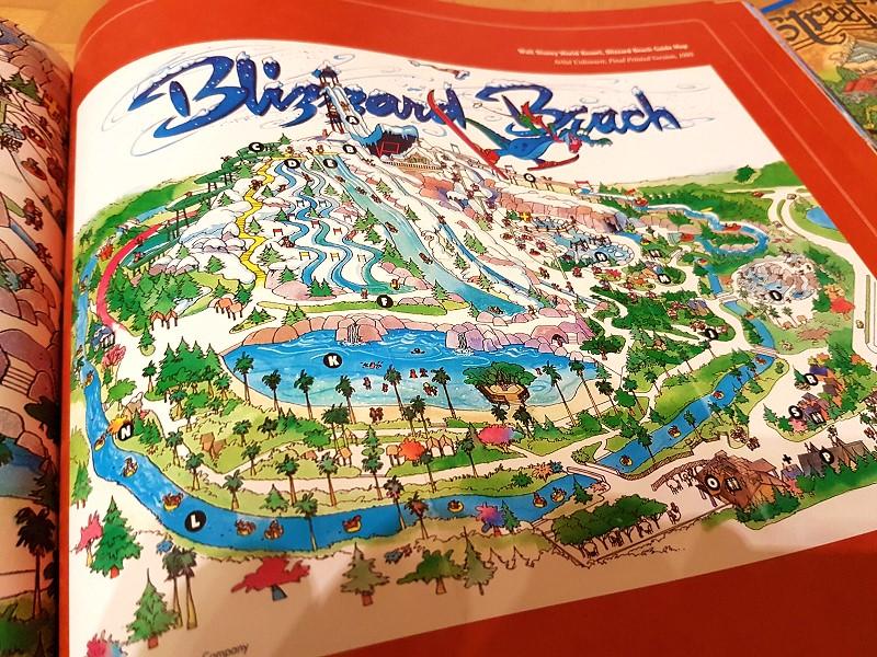Tolles Buch: Maps of the Disney Parks von Kevin und Susan Neary on