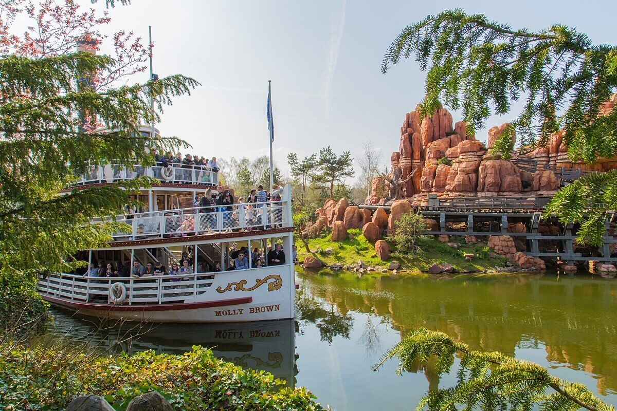 Die Molly Brown dreht ihre Runden auf den Rivers of the Far West