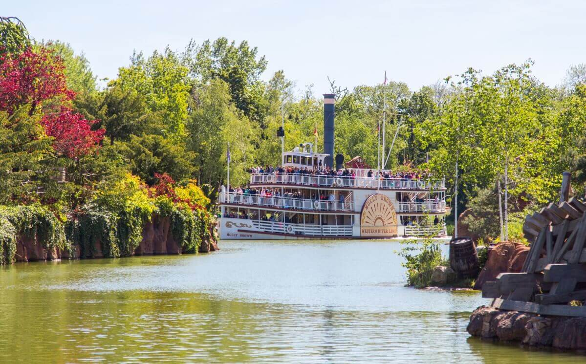 Die Molly Brown dreht ihre Runden auf den auf den Rivers of the Far West
