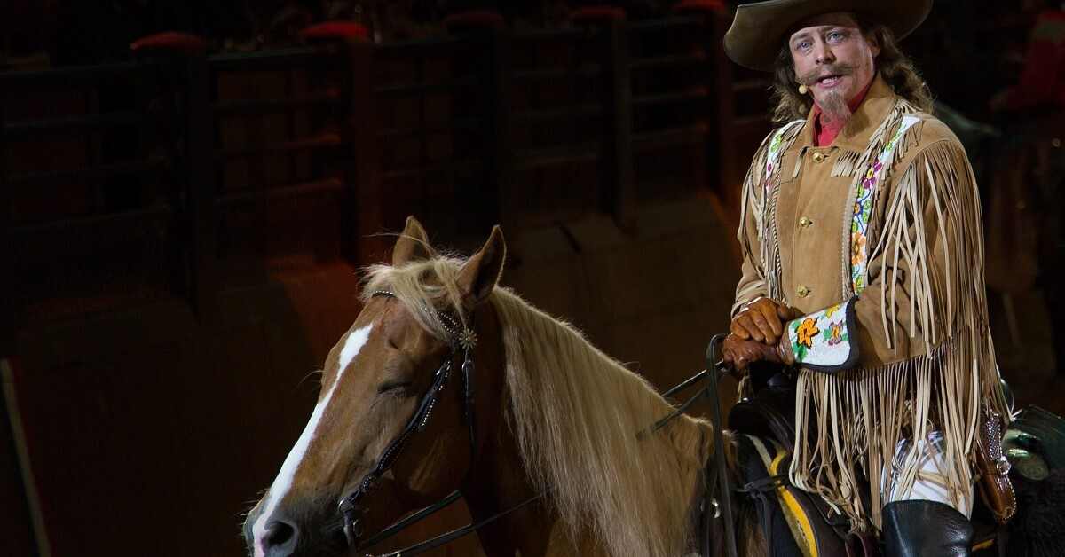Buffalo Bill auf seinem Pferd