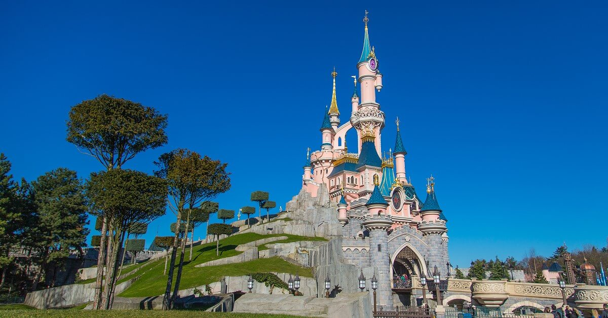 Sleeping Beauty Castle - das Dornröschenschloss in Disneyland Paris