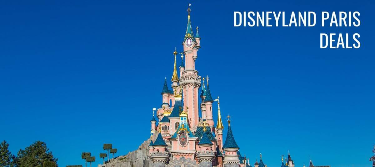 Photo of Sleeping Beauty Castle to advertise Disneyland Paris Deals