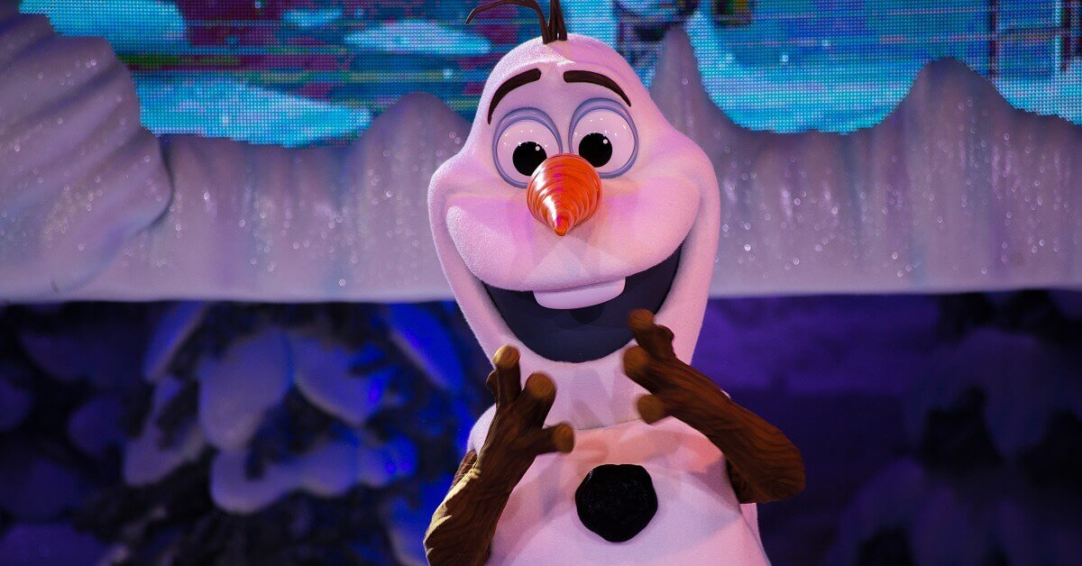 Olaf beim Frozen Summer Fun