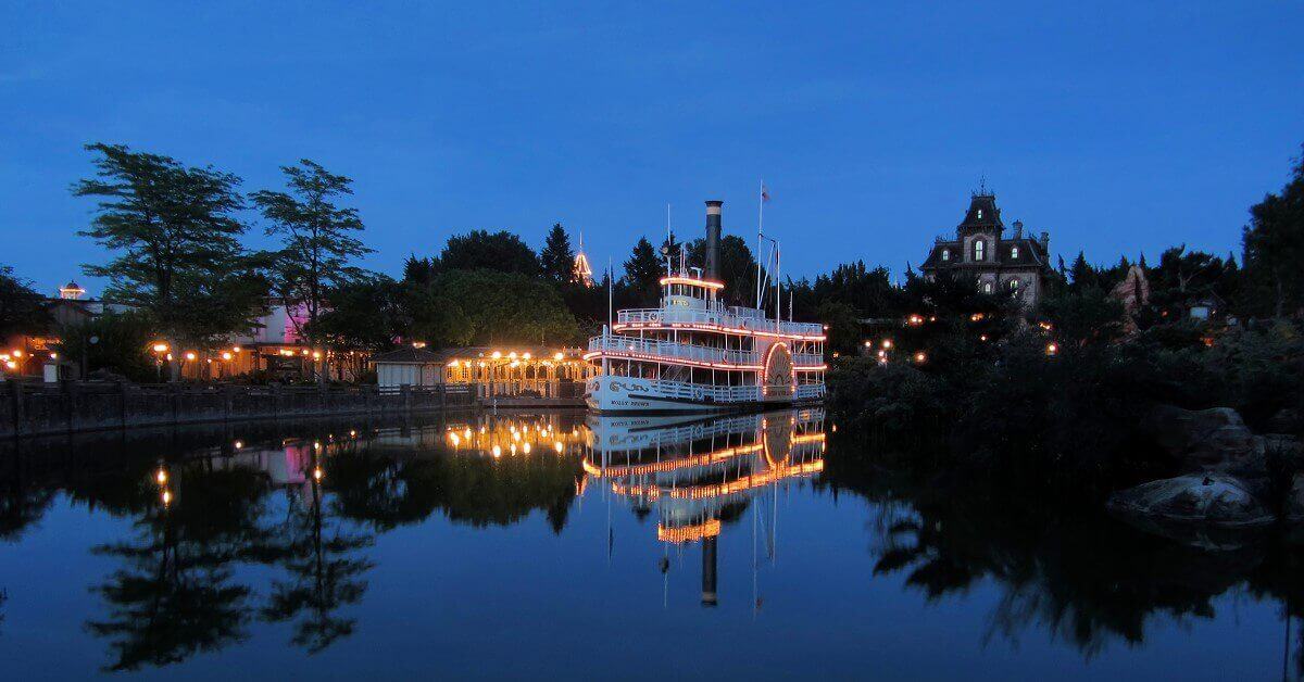 Die Molly Brown an der Anlegestelle des Thunder Mesa Riverboat Landing