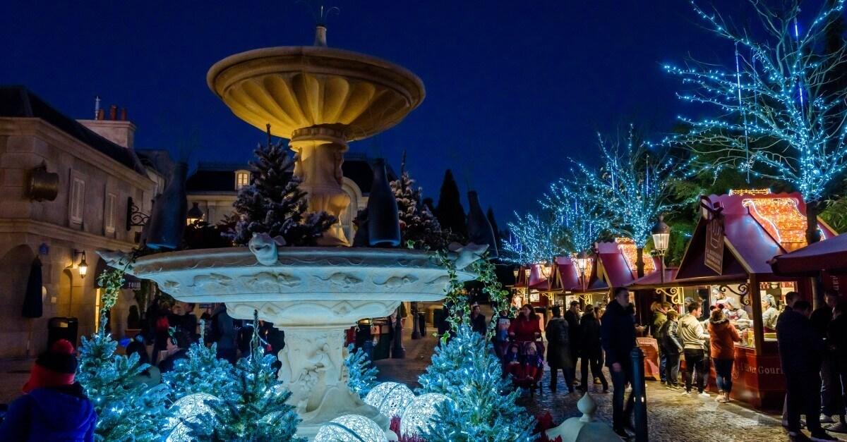L'Hiver Gourmand am Place de Remy in Disneyland Paris