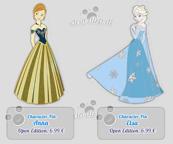Anna und Elsa Pins kommen am 27.12.