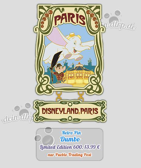 Dumbo Pin aus der Retro Kollektion