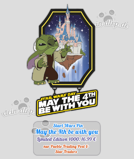 May the 4th be with Stitch...