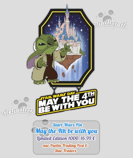 May The Fourth Be With You At Disneyland: Pin Trading Kollektion Im Disneyland Paris