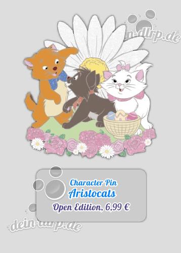 Aristocats Pin vom 12. März 2016