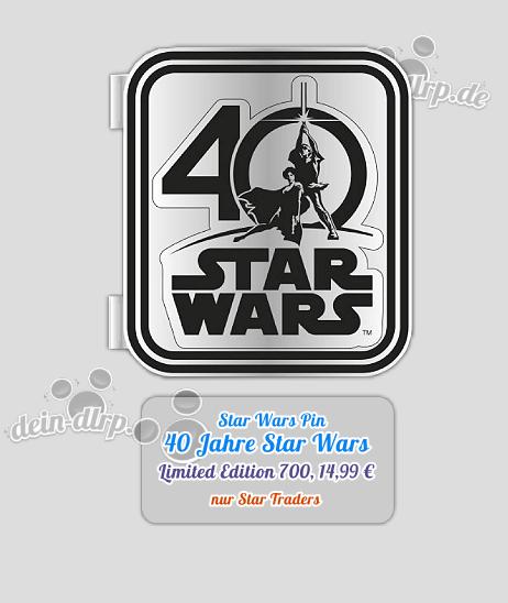 40 Jahre Star Tours Pin im Disneyland Paris