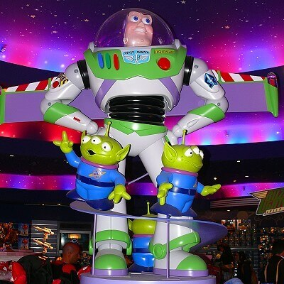 Buzz Lightyear Shop Constellations