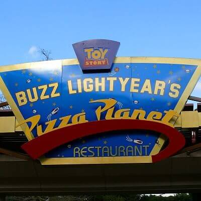 Buzz Lightyear Pizza Planet