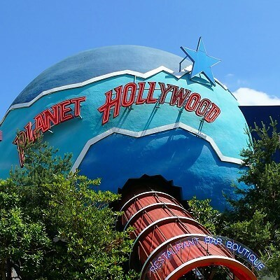 Planet Hollywood im Disneyland Paris