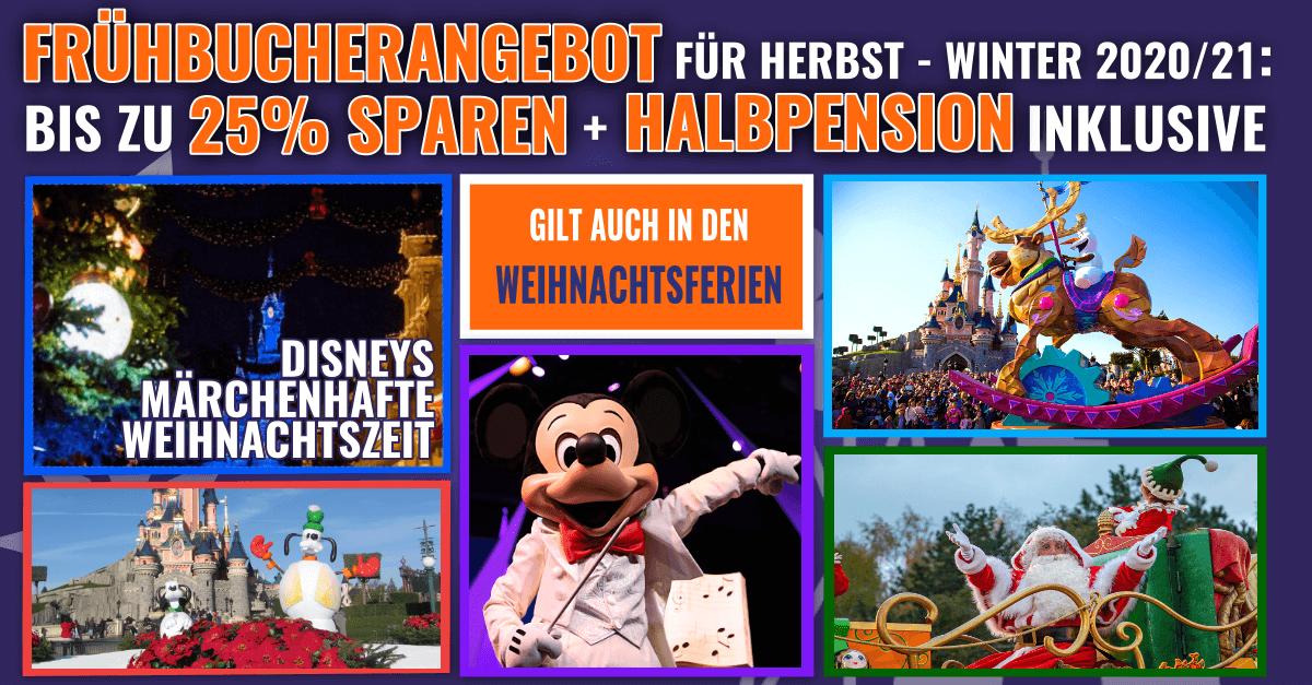 Sonderangebote für Disneyland Paris in 2020
