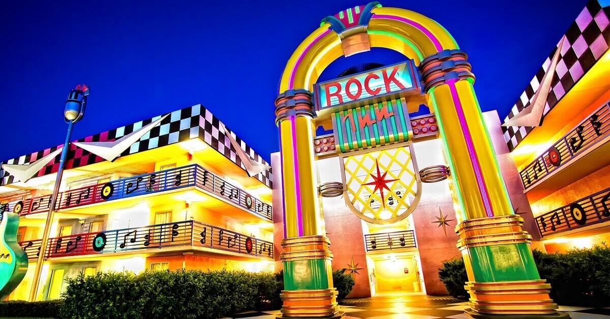 Riesige Musicbox in Disney's All Star Music Resort