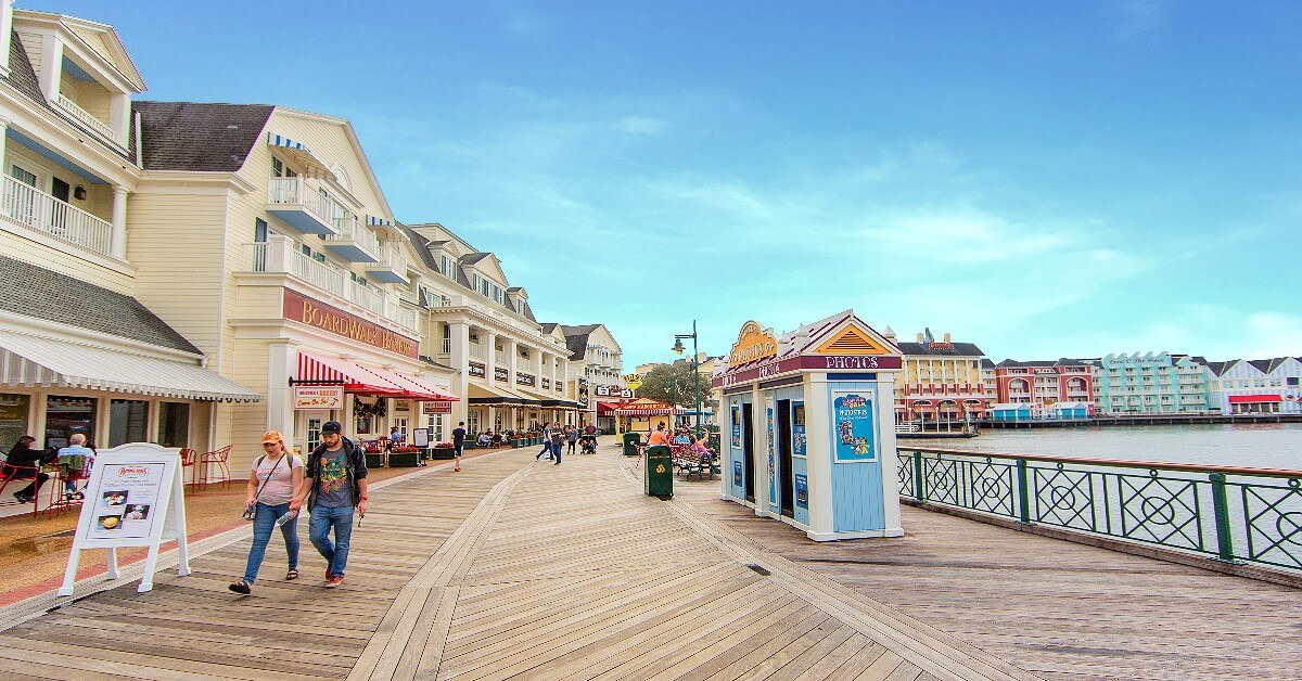 Uferpromenade wie in Atlantic City:  Disney's Boardwalk Inn