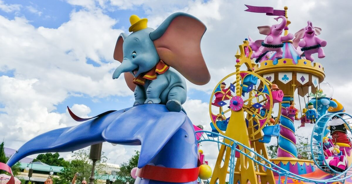 Festival of Fantasy Parade mit Dumbo im Magic Kingdom