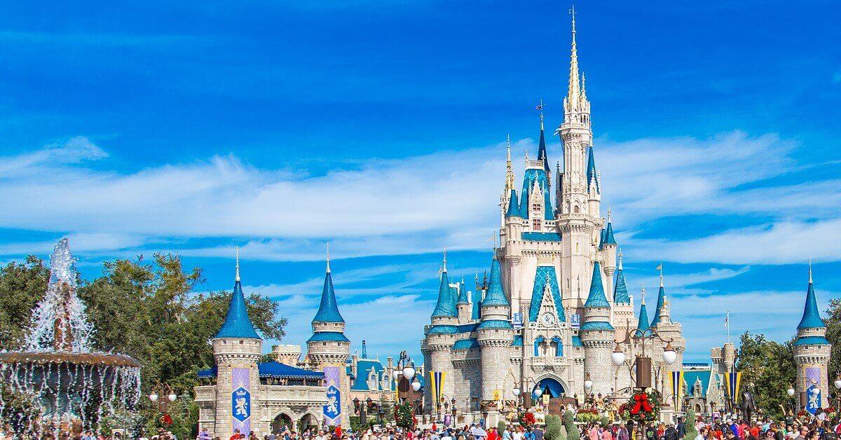 Markenzeichen des Magic Kingdom: Das Cinderella Schloss