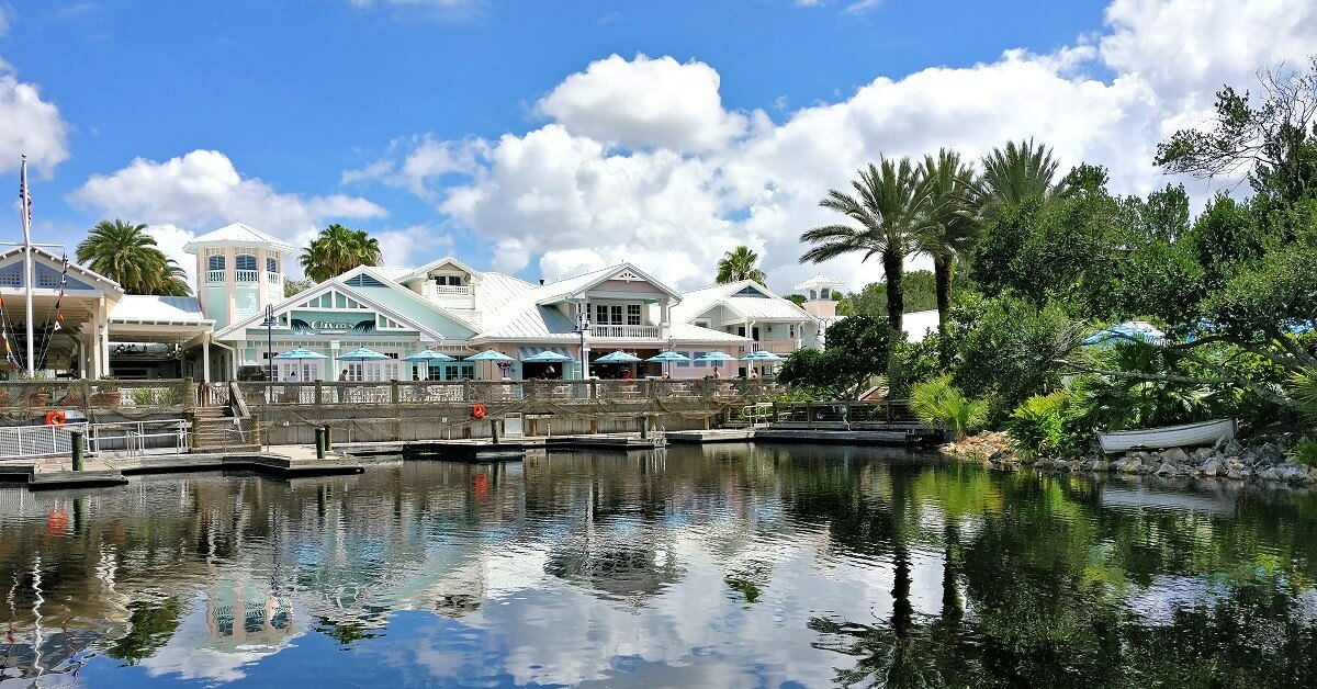 Disney's Old Key West - eines der Deluxe Resorts & Hotels in Walt Disney World