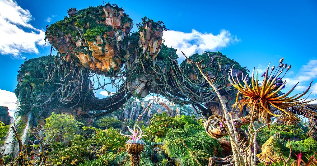 Floating Mountains in Pandora - The World of Avatar