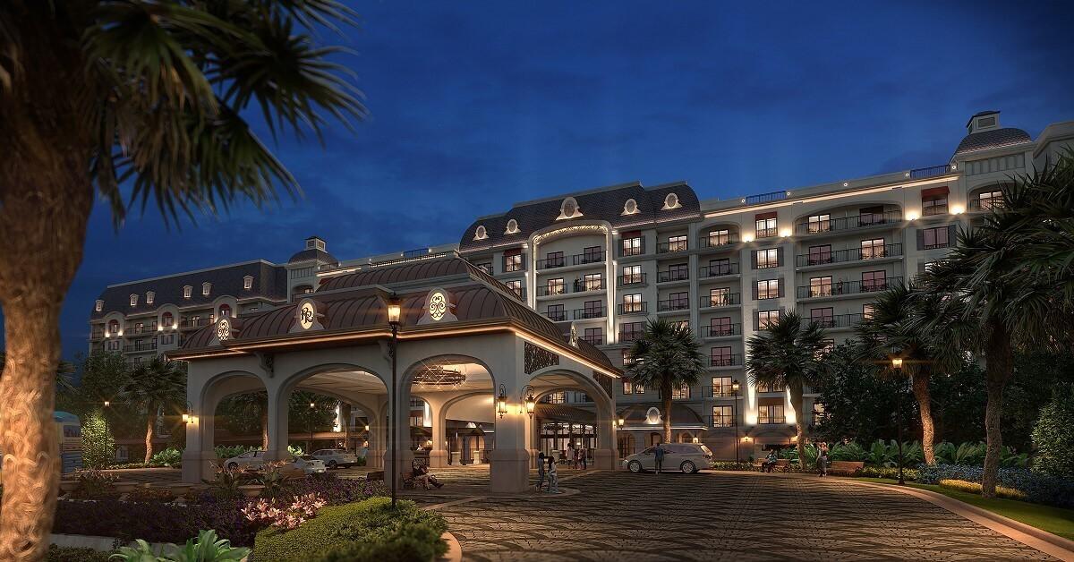 Eingang zu Disney's Riviera Resort