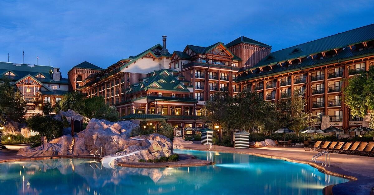 Hotel wie in einem US-Nationalpark: Disney's Wilderness Lodge