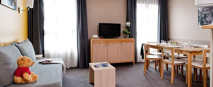 Adagio city aparthotel im val d 39 europe beim disneyland paris for Adagio appartement hotel