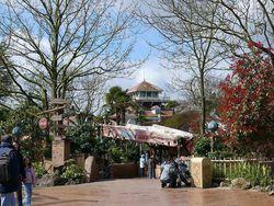 Adventureland im Disneyland Park