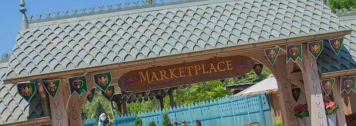 Arendelle Marketplace aus Die Eiskönigin - Eingangschild