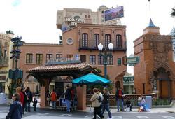 Ausschnitt aus dem Production Courtyard im Walt Disney Studios Park