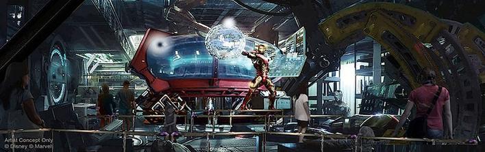 Avengers Coaster im Disneyland Paris