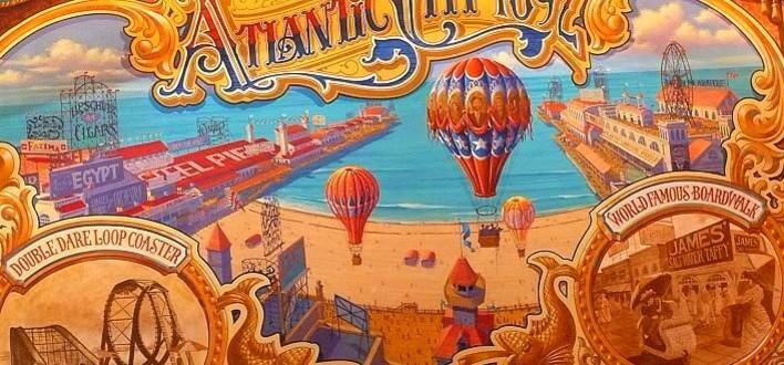 Bild des Wandgemäldes im Candy Palace