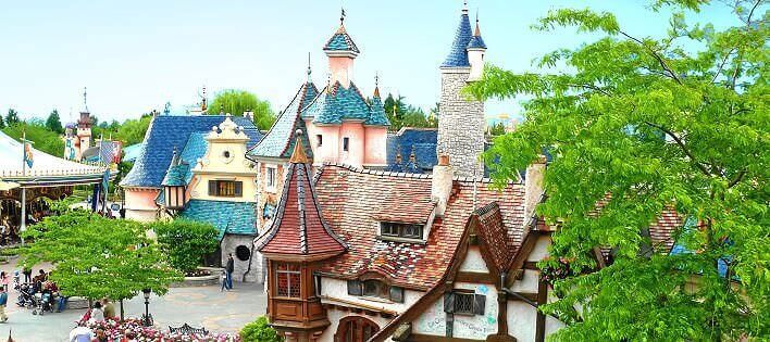 Bild über das Fantasyland