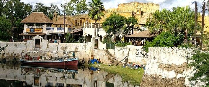 Blick auf Harambe im Animal Kingdom
