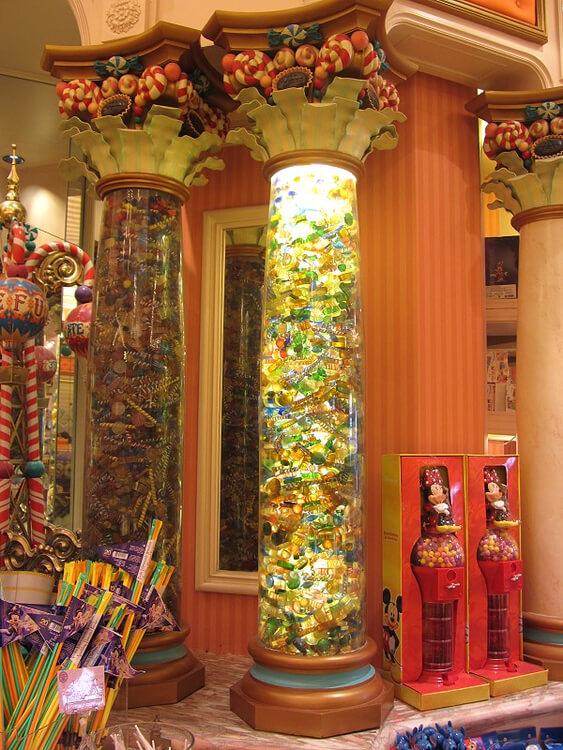 Boardwalk Candy Palace - riesiger Palast der Süßigkeiten