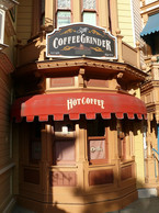 Café im Disneyland
