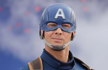Captain America im Disneyland Paris