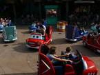 Cars beliebte Attraktion im Disneyland