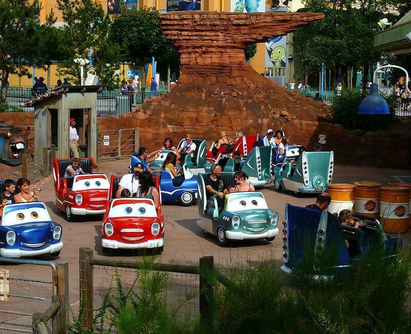 Cars Hotel Disneyland Paris