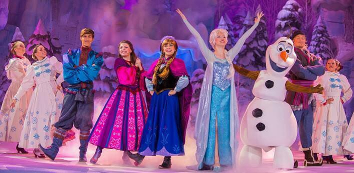 Cast des Frozen Sing-along